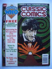 Doctor Who Classic Comics #3 c/w Sontaran Poster